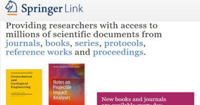 Springer Nature: e-Books