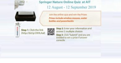 Springer Nature Online Quiz (from now to September 2019)