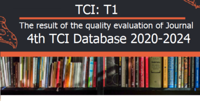 List of Journal T1 (TCI Databases 2020-2024)