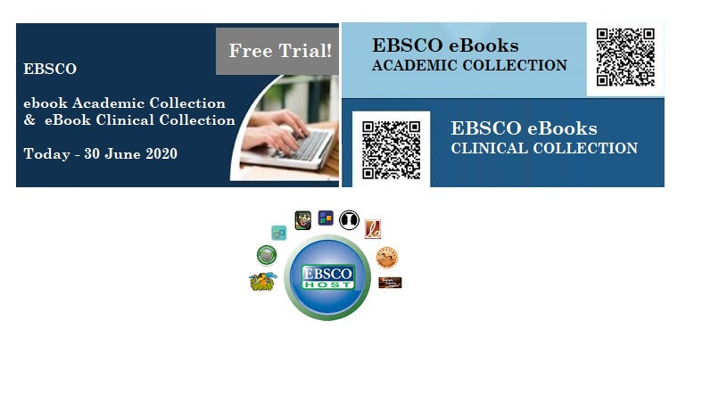 FREE TRIAL: EBSCO's ebook Academic Collection and Clinical Collection