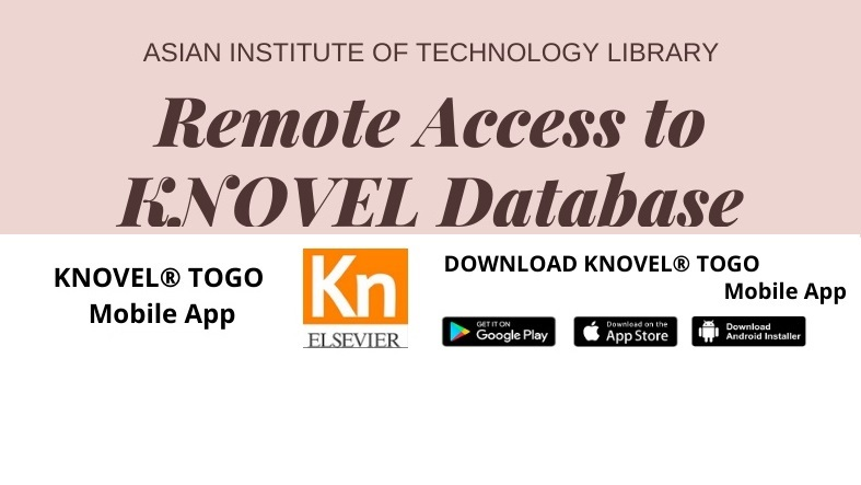 Remote access to KNOVEL