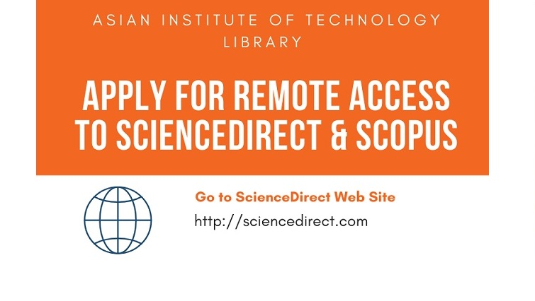 Remote Access to ScienceDirect and SCOPUS