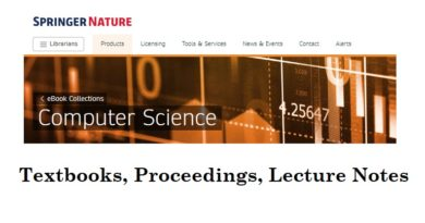Springer Nature: Computer Science eBooks
