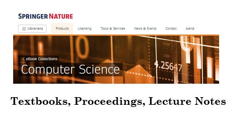 Springer Nature: Computer Science eBooks