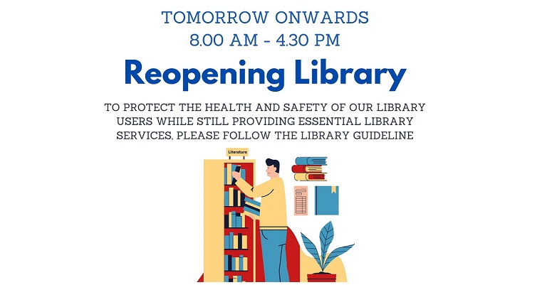 Reopening Library