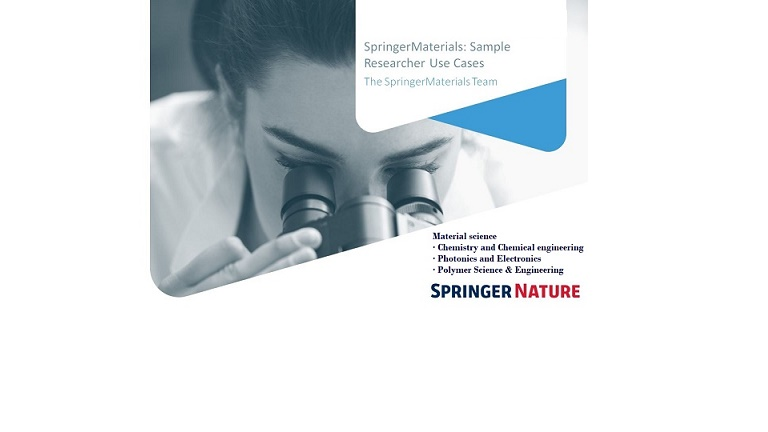Free Access to Springer Materials 1 June – 31 July 2020