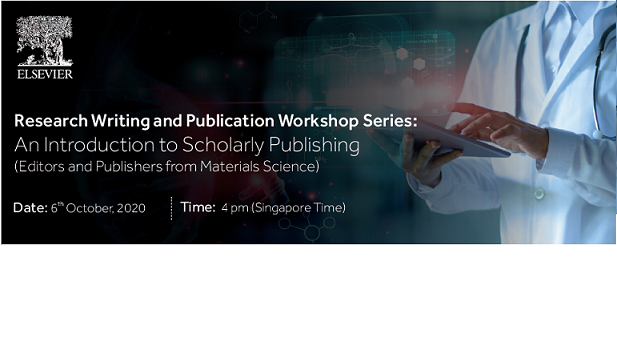 Elsevier South East Asia Publishing Workshop: An Introduction to Scholarly Publishing