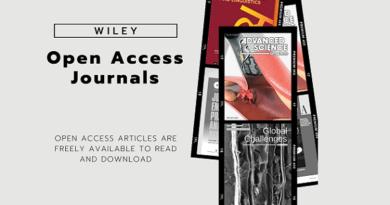 Wiley Open Access Journals