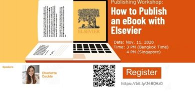 How to publish an eBook with Elsevier. (11 Nov. 2020: 3 PM Bangkok Time)