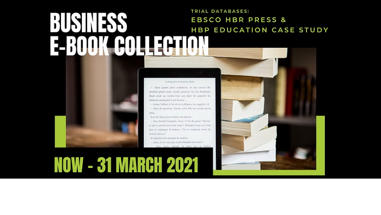 Trial of eBook's collection