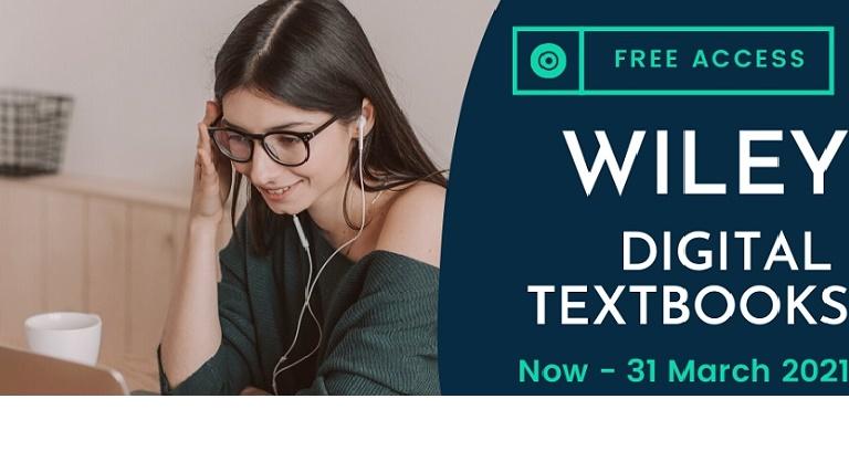 Wiley Digital Textbooks  (Until 31 March 2021)