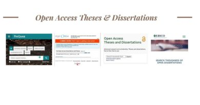 Open Access Theses & Dissertations
