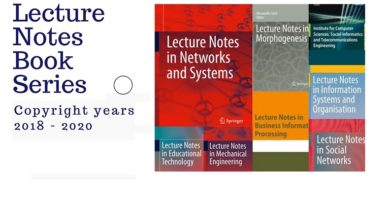 Lecture Notes Book Series 2018-2020